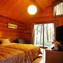 森のコテージ くるみの木のペットと泊まれる部屋