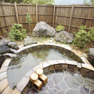 竜門の里 宝湯の露天温泉