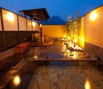 湯布院ガーデンホテルの天然温泉