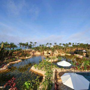 シギラベイサイドスイート アラマンダの天然温泉
