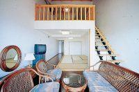 リゾートホテル海辺の果樹園のペット泊まれる部屋