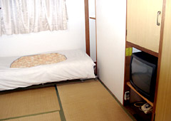 ビジネス旅館 ふたばのペットと泊まれる部屋