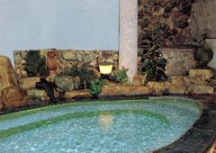 利重旅館の長門湯本温泉の天然温泉