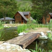 山荘 琴の滝荘のコテージ