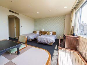 リブマックスリゾート加賀山代のぺットと泊まれる部屋