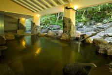ネスタリゾート神戸の天然温泉の露天風呂