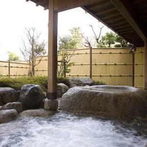 鹿の湯ホテルの湯の山温泉
