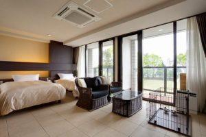 海のホテル 島花のペットと泊まれる部屋