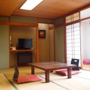 八勝園湯元館のぺットと泊まれる部屋
