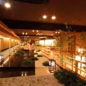 きぬ川ホテル三日月の天然温泉