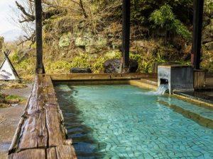かご岩温泉旅館の天然温泉