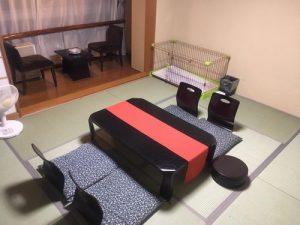 リブマックスリゾート川治のペットと泊まれる部屋