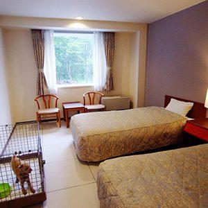 浅間高原ホテルのペットと泊まれる部屋