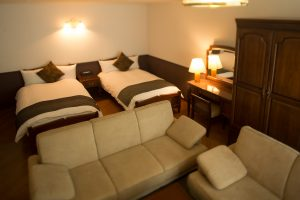 カーロフォレスタ北軽井沢RIOのペットと泊まれる部屋