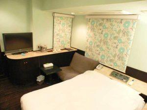 新宿CITY HOTEL N.U.T.S東京のペットと泊まれる部屋