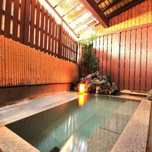 大東舘の天然温泉