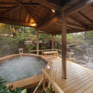 Dogサバトリーのある宿 ご・遊庭の天然温泉