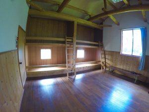 上小川レジャーペンションのペットと泊まれる部屋