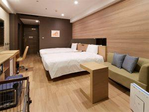 グランドプリンスホテル新高輪のペットと泊まれる部屋