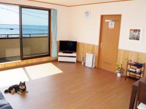 サニーコースト南房総のペットと泊まれる部屋