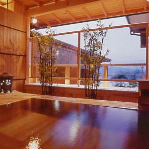 網代観光ホテルの天然温泉