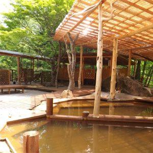赤石温泉の天然温泉