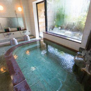 ペットと泊まるCARO FORESTA伊豆高原Cuoreの天然温泉