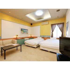 ファームガーデンホテルのぺットと泊まれる部屋