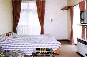 ペンションファンタイムのぺットと泊まれる部屋