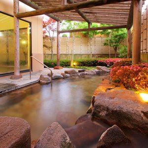 ホテル花いさわの天然温泉