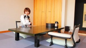 ホテル花いさわのペットと泊まれる部屋