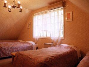 ペンションハッピーベルのぺットと泊まれる部屋