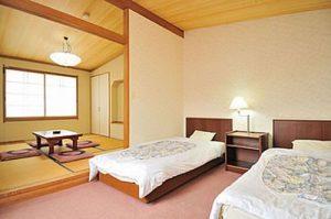 ホテルシェーヌ木島平のペットと泊まれる部屋