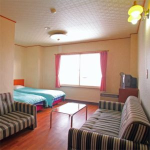 ホテルモックのペットと泊まれる部屋