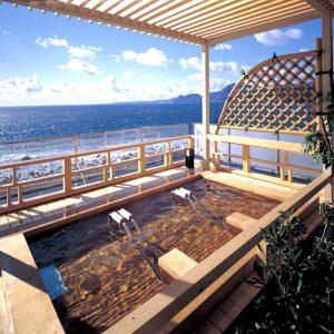 稲取東海ホテル湯苑の天然温泉