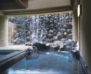 軽井沢マリオットホテルの天然温泉