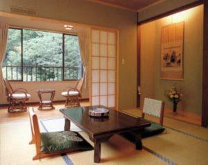 湯之沢渓山荘のペットと泊まれる部屋