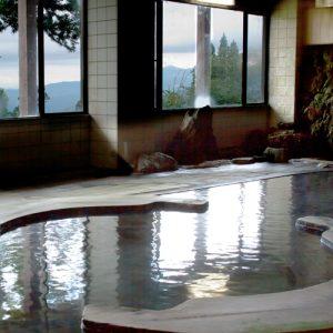 ホテル後楽荘の天然温泉