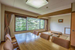 ホテルラフォーレ修善寺のぺットと泊まれる部屋
