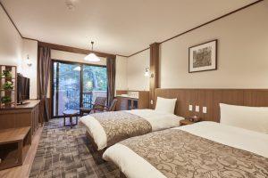 ルシアン旧軽井沢のぺットと泊まれる部屋