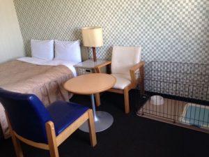 ホテルリブマックス甲府のペットと泊まれる部屋