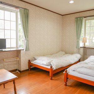 ペンションマイルポストのペットと泊まれる部屋