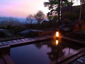 蓼科パークホテルの天然温泉