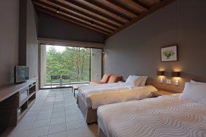 レジーナリゾート軽井沢御影用水のぺットと泊まれる部屋