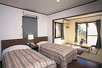 ペンション四季彩のペットと泊まれる部屋