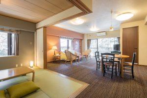 サンダンス・リゾート河口湖のペットと泊まれる部屋