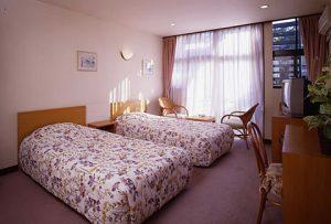 サンシャイン修善寺のぺットと泊まれる部屋