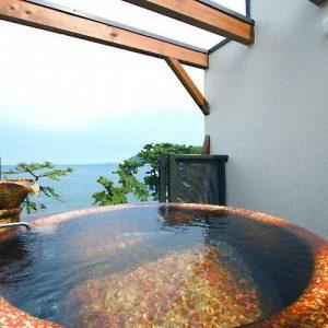 味と湯の宿ニューとみよしの天然温泉