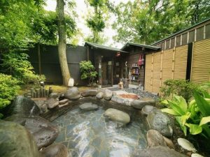 ウブドの森伊豆高原の天然温泉