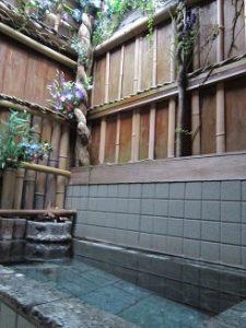 温泉民宿山仙の天然温泉